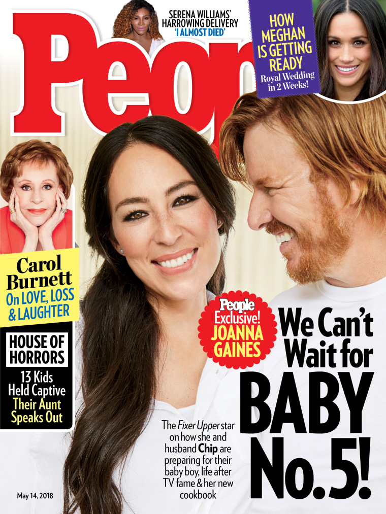 Joanna Gaines, Chip Gaines, baby number 5