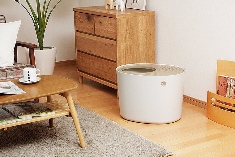 best cat litter box iris top entry litter box