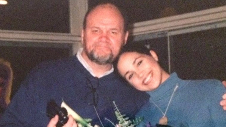 Meghan Markle and her father, Thomas Markle