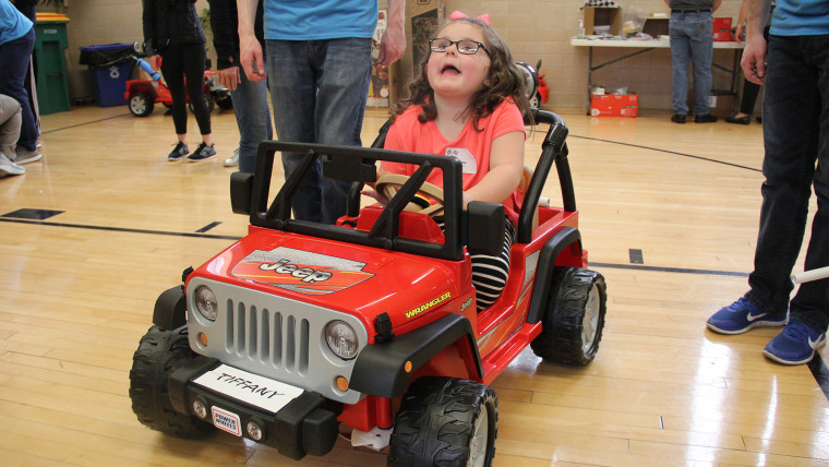 While kids love having Power Wheels so they can be independent, teaching them how to use the cars can be a good way to convince insurance companies to fund a power wheelchair.