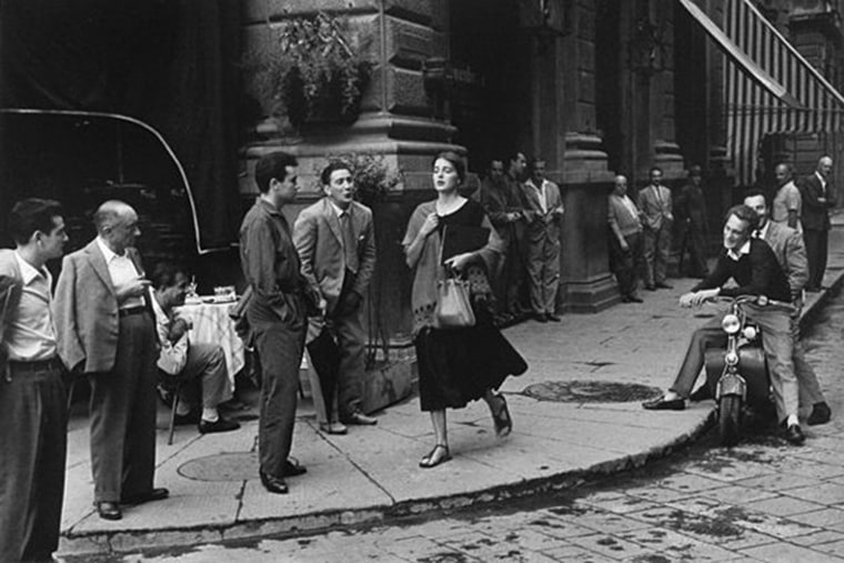 """""""American Girl in Italy,"""" a photograph by Ruth Orkin"""