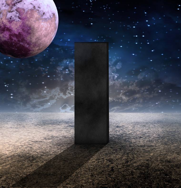 Image: Monolith on Planet