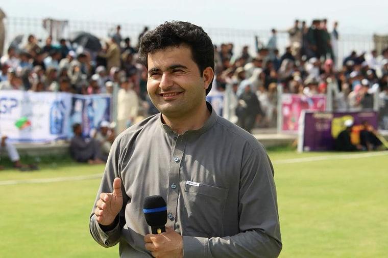 Image: BBC journalist Ahmad Shah