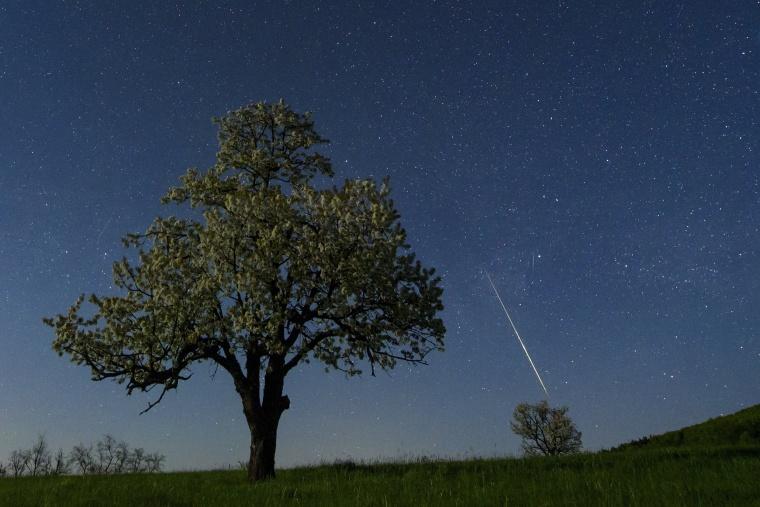 Image: Meteorites seen near of Salgotarjan