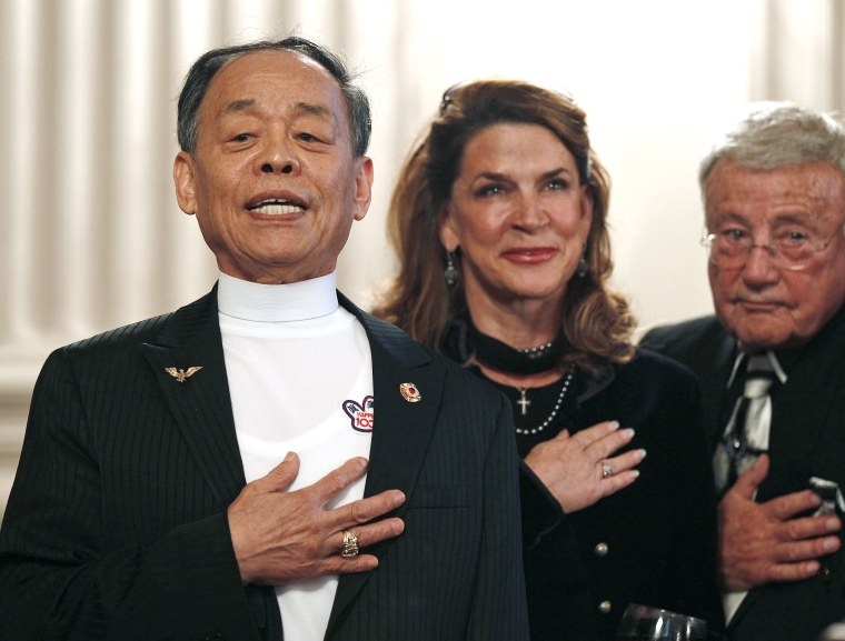 U.S. Congressional Taekwondo Club celebrates 80th birthday for Grand Master Jhoon Rhee on Capitol Hill