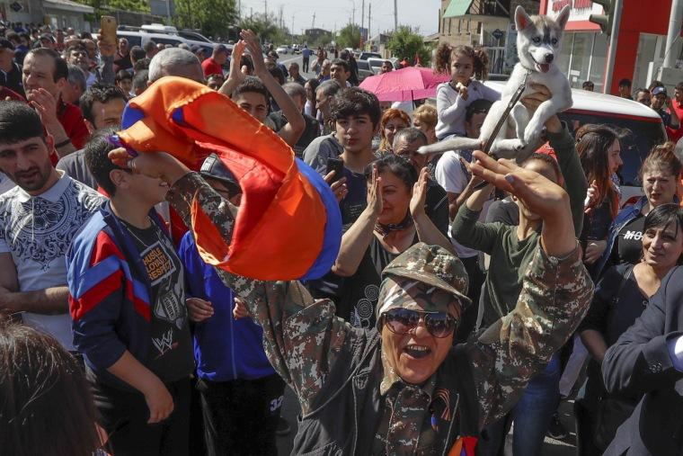 Image: Yerevan protests