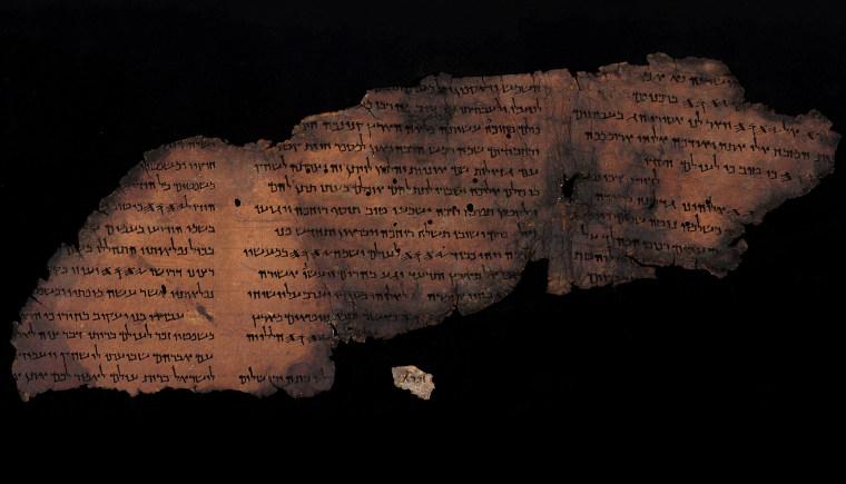 Image: Dead Sea Scrolls