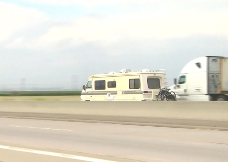 Image: Motor Home chase