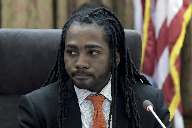 WASHINGTON, DC - MARCH 20: DC Council member Trayon White Sr. d