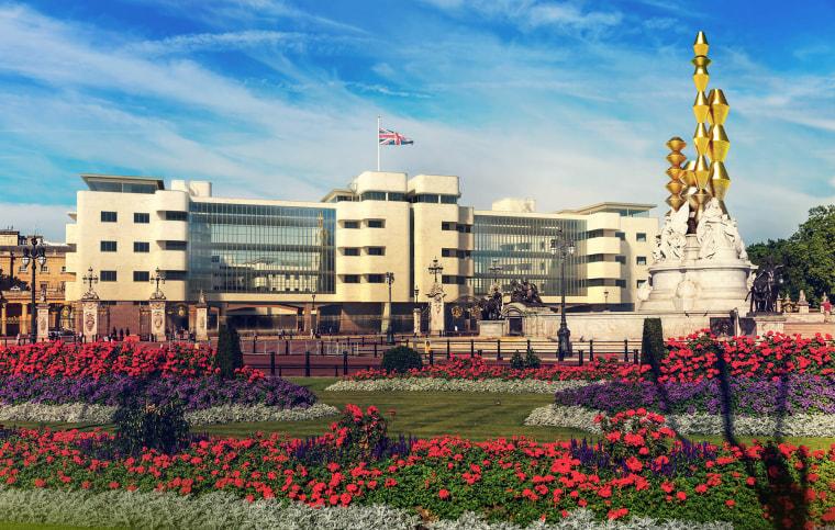 Image: Buckingham Palace in Bauhaus style
