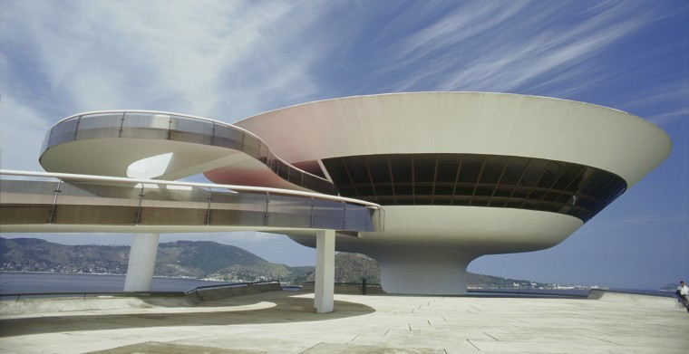 Museum of Contemporary Art, Niteroi, RJ, Brazil