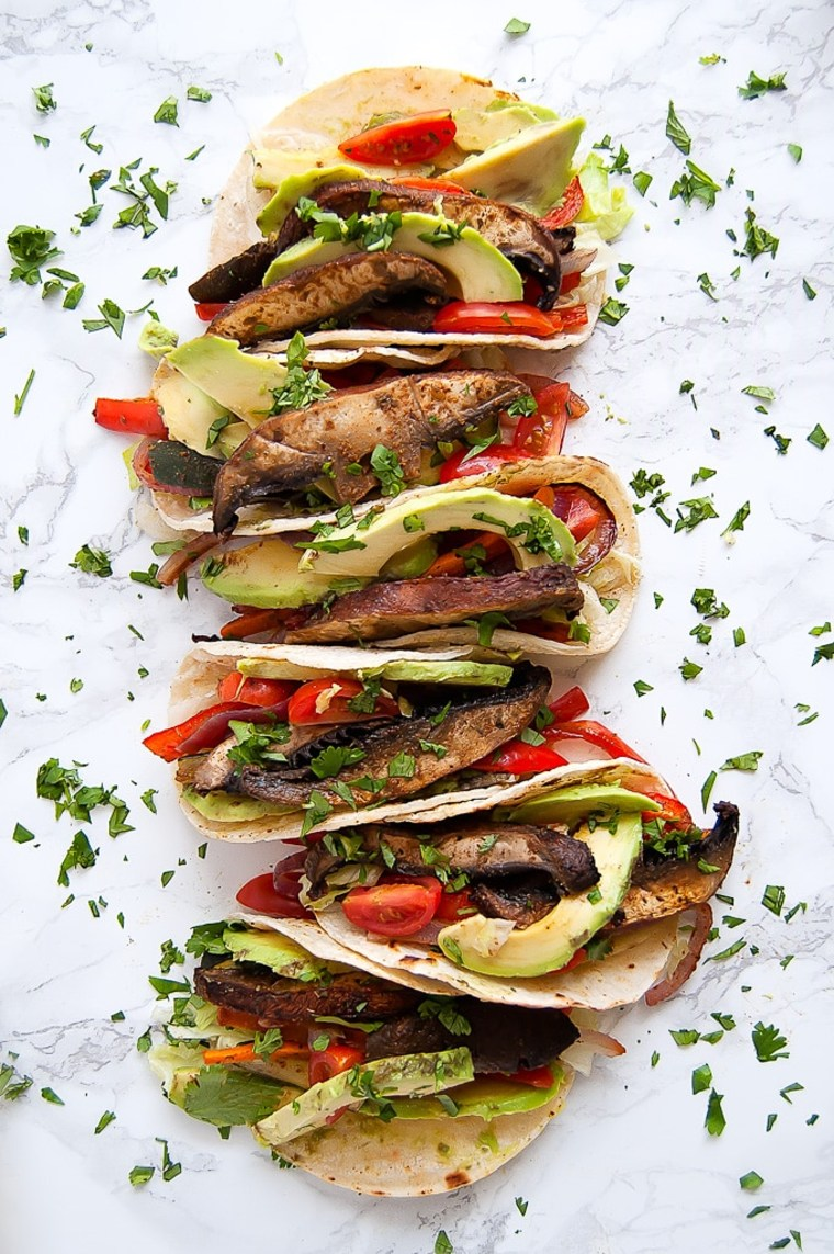 Adobe Lime Portobello Tacos