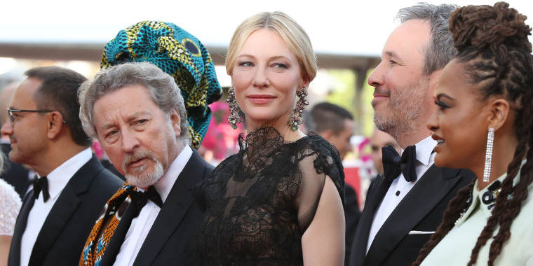 Blanchett is glamorous and eco-friendly!