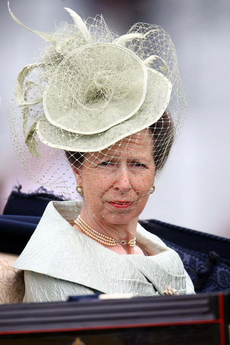 The Princess Royal arrives on The 3rd day of The Royal Meeting at Ascot Racecourse on June 18, 2009 in Ascot, England.