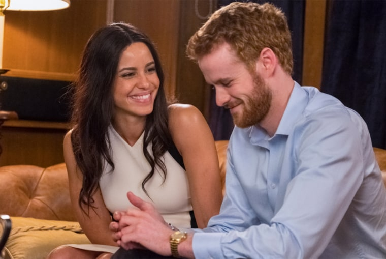 """Murray Fraser and Parisa Fitz-Henley star in Lifetime's """"Harry and Meghan: A Royal Romance."""""""