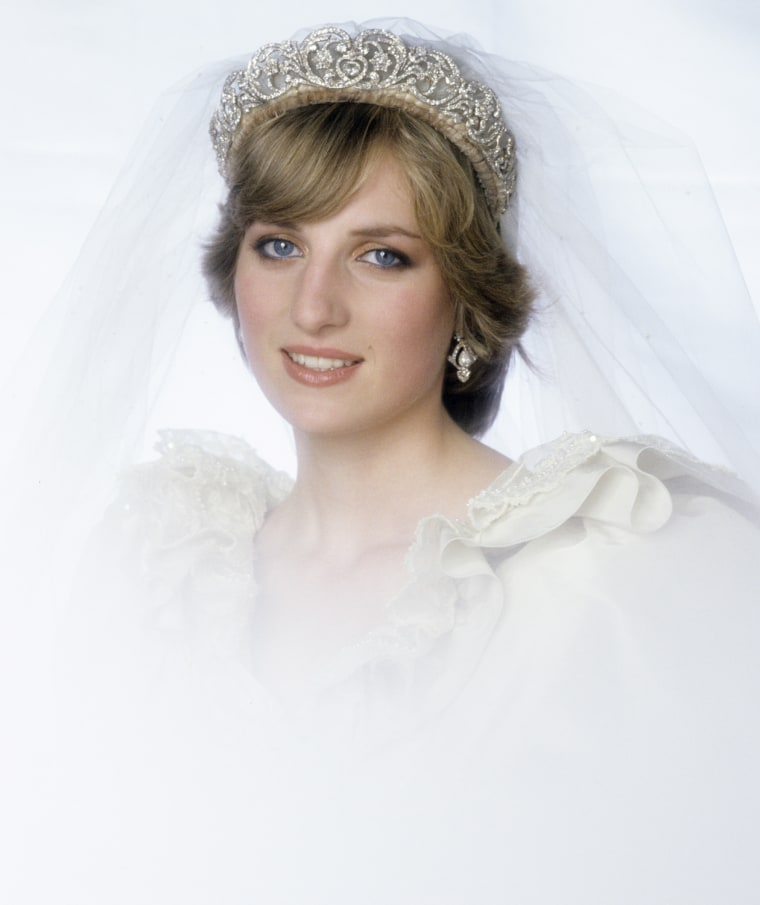 Princess of Wales Wedding Portrait