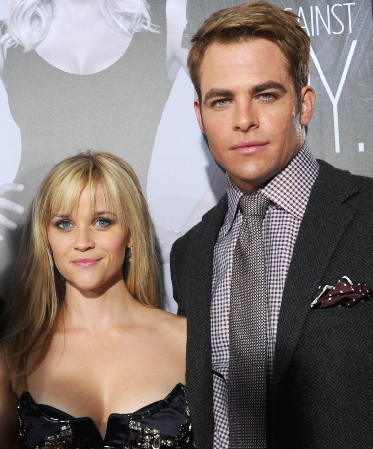 Reese Witherspoon and Chris Pine