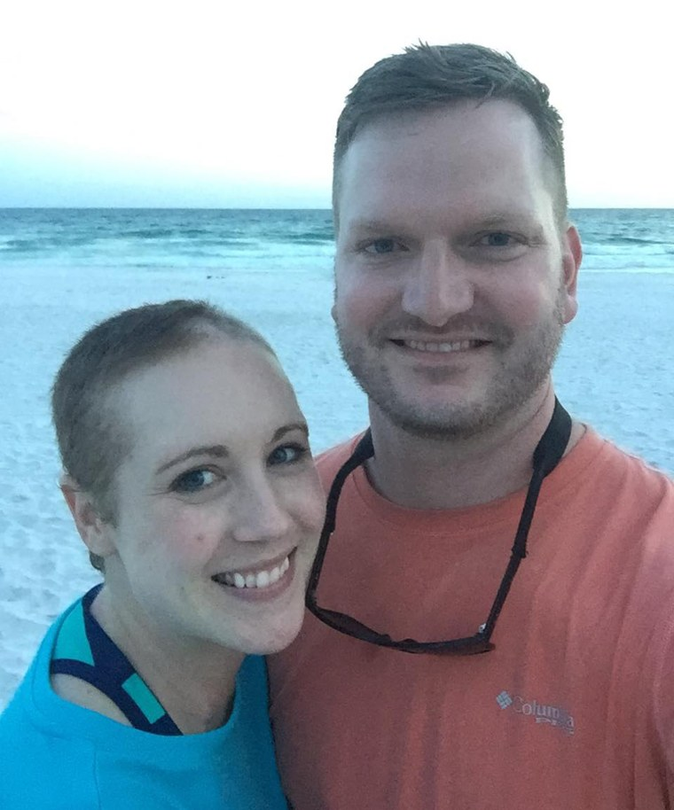 As Danielle Dick battled melanoma, she and her husband of a decade, Tyler, completed some bucket list items and created memories together.