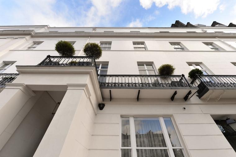 Julie Andrews former London townhouse