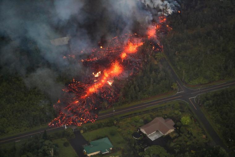 Image: Hawaii's Kilauea Volcano eruption