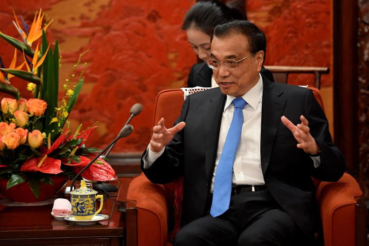 Image: Chinese Premier Li Keqiang