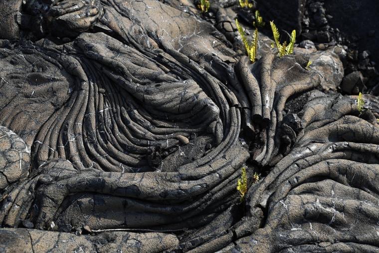 Image: Lava flow from the Kilauea volcano