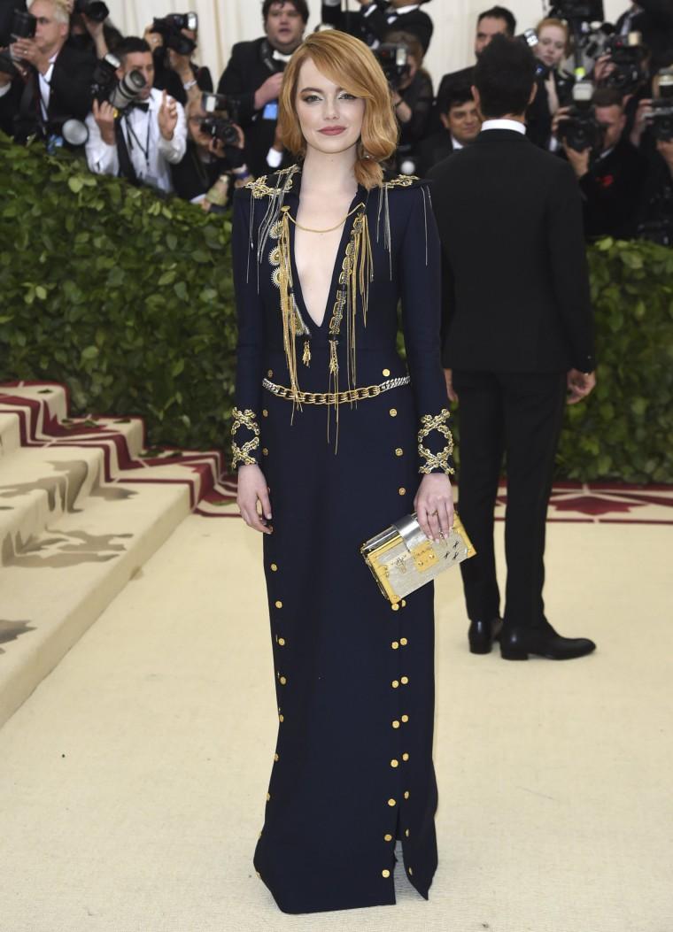 Image: Emma Stone Met Gala 2018