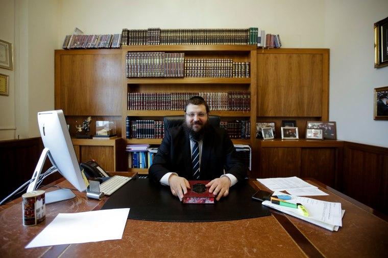 Image: Berlin Community Rabbi Yehuda Teichtal