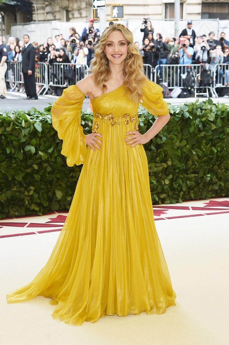 Image: Amanda Seyfried The Met Gala 2018