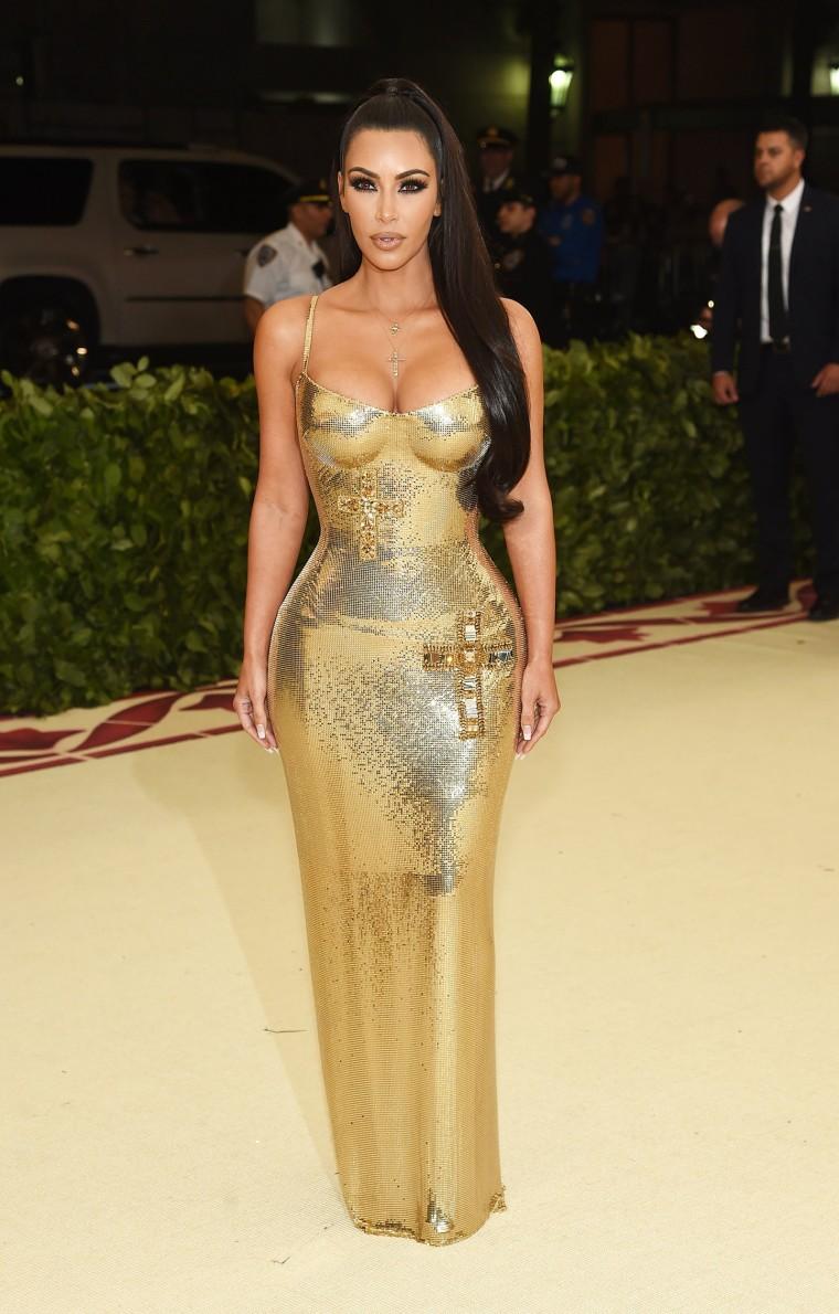 Image: Kim Kardashian The Met Gala 2018