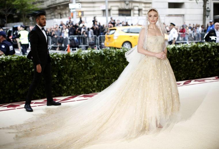 Image: Kate Bosworth The Met Gala 2018