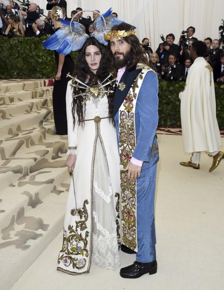 Image: Lana Del Rey, Jared Leto