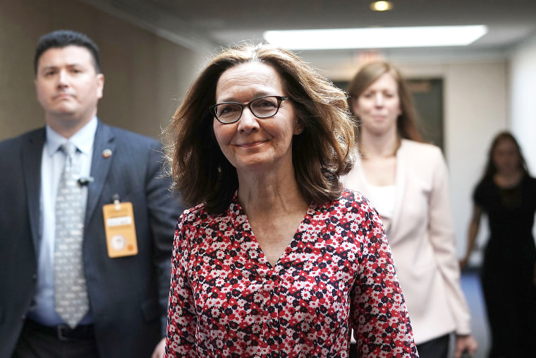Image: President Trump's Nominee To Be CIA Chief Gina Haspel Meets With Lawmakers On Capitol Hill