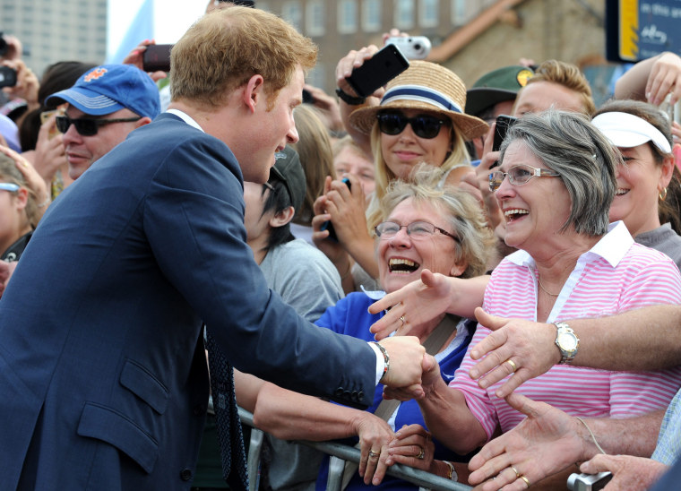 Image: Prince Harry at International Fleet Review