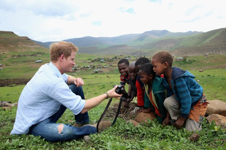 Image: Prince Harry Visits Lesotho With His Charity Sentebale