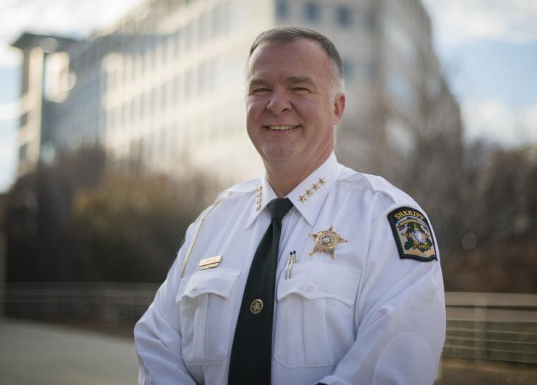 Image: Sheriff Irwin Carmichael