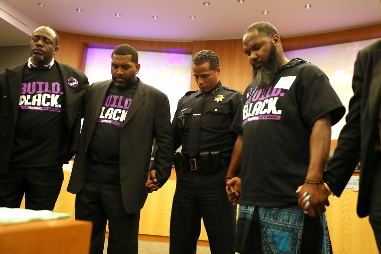 f4fb1f203e Black police chiefs grapple with officers' treatment of young black men