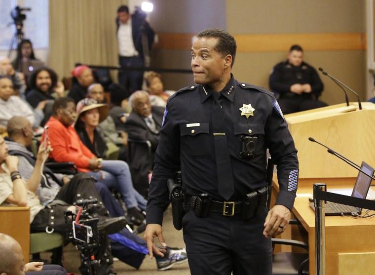 Image: Sacramento Police Chief Daniel Hahn