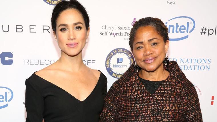 Meghan Markle and her mother, Doria Ragland.