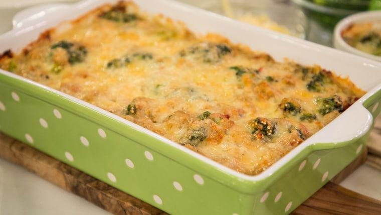 Make-ahead Monday casserole