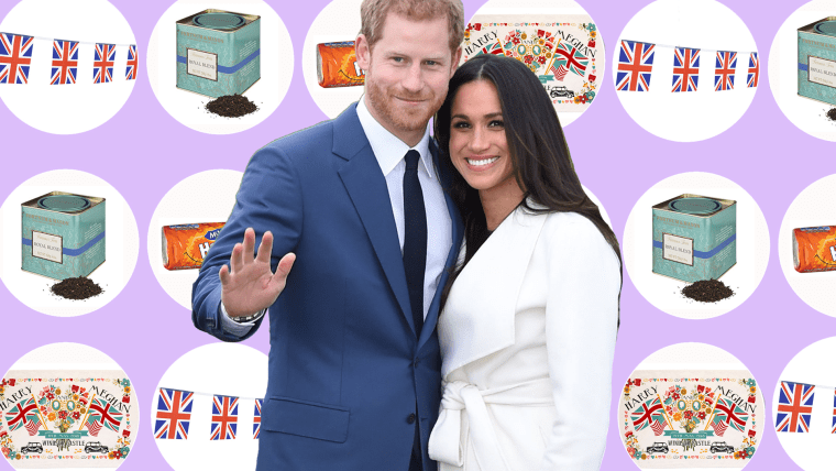 Shop a few of our favorite things to help celebrate the royal wedding of Prince Harry and Meghan Markle.