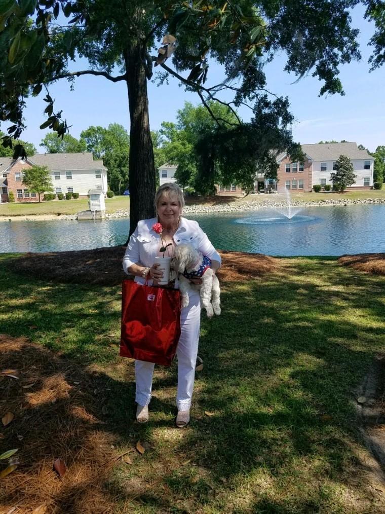 Barbara Foy, 71, gets royal treatment at local Ruby Tuesday.
