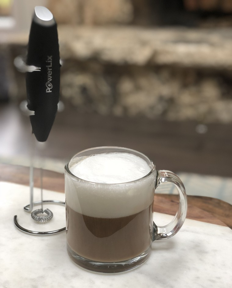 How to froth milk at home