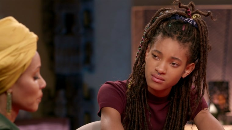 Willow Smith revealed to her mom, Jada Pinkett Smith, that the stress of fame caused her to self-harm as a child.
