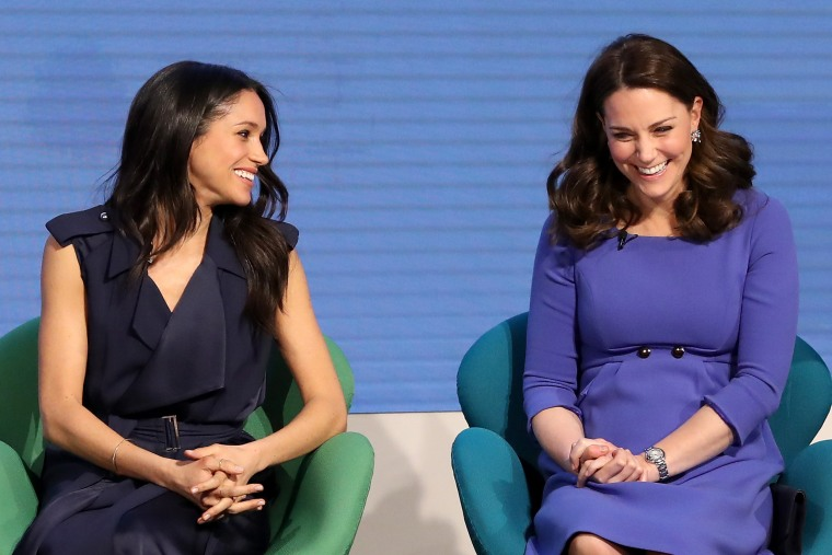 Meghan Markle and Kate, Duchess of Cambridge