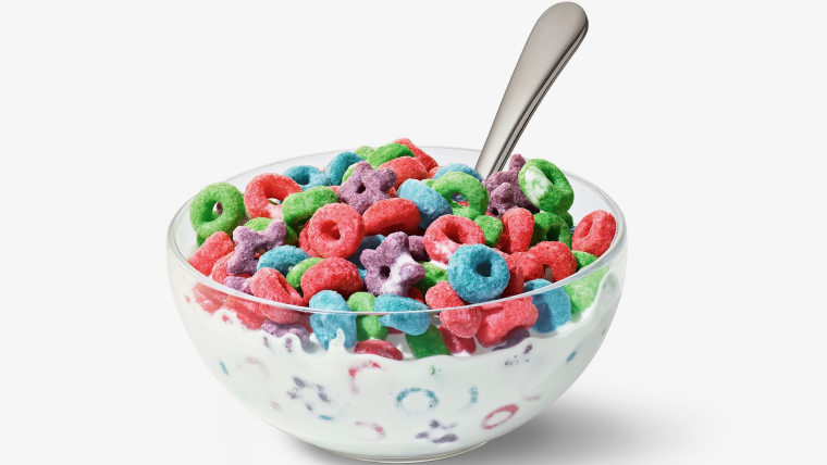 Froot Loops' O's and stars bring a new sweet, tangy flavor.