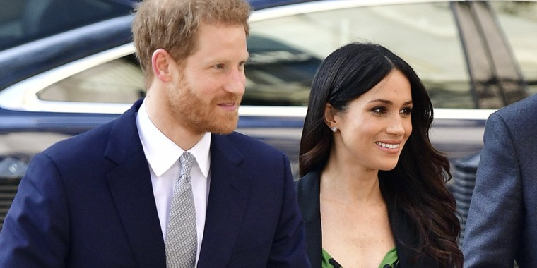 Is there any occasion where Markle's hair doesn't look absolutely perfect?