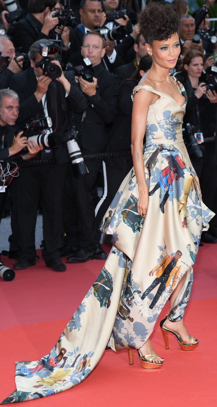 "Thandie Newton at ""Solo: A Star Wars Story"" premiere at Cannes Film Festival"