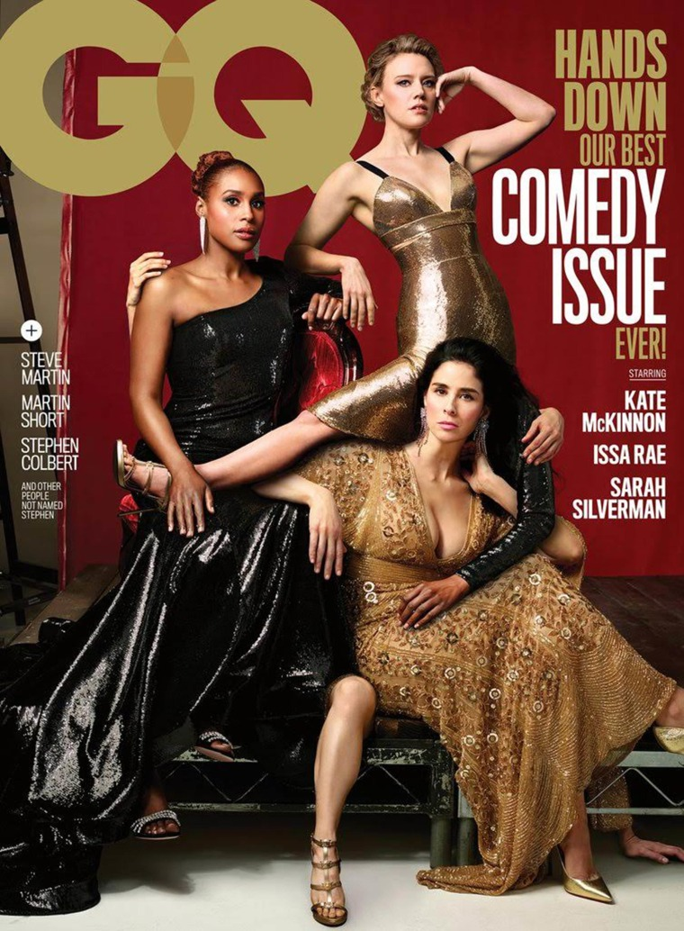 Kate McKinnon, Issa Rae and Sarah Silverman on GQ cover