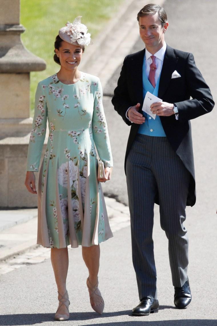 Pippa Middleton, James Matthews, Prince Harry and Meghan Markle's wedding
